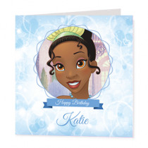 Disney Princess Tiana - Luxury Greeting Card