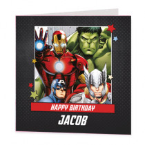 Marvel Avengers Group - Luxury Greeting Card