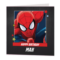 Marvel Avengers Spiderman - Luxury Greeting Card