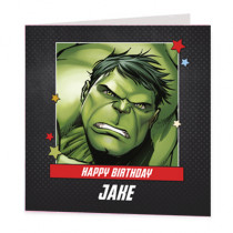 Marvel Avengers Hulk - Luxury Greeting Card