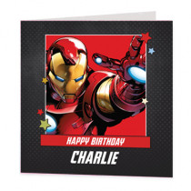 Marvel Avengers Iron Man - Luxury Greeting Card