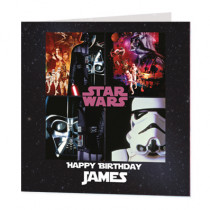 Disney Star Wars - Luxury Greeting Card