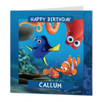 Disney Pixar Finding Nemo And Dory - Luxury Greeting Card