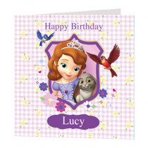 Disney Junior Sofia The First - Luxury Greeting Card