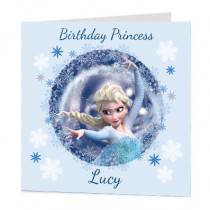Disney Frozen Elsa And Anna - Luxury Greeting Card