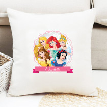 Personalised Disney Princesses Cushion