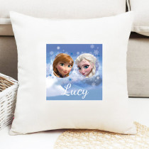 Disney Frozen Elsa And Anna - Cushion