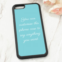 Easy Text Only - iPhone 6 Case