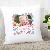 Personalised Fabrique Grandma Photo Cushion