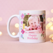 Personalised Fabrique Happy Birthday Photo Mug