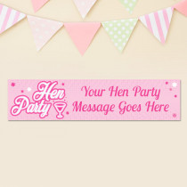 Hen Party - Personalised Banner