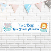 Jungle Boy - Personalised Banner