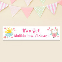 Jungle Girl - Personalised Banner