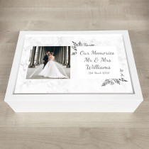 Personalised Photo Keepsake Memory stylish floral theme