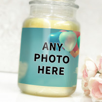 Personalised Easy One Photo Upload - Label