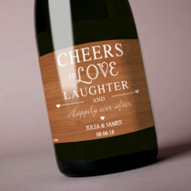 Personalised Love and Laughter - Label