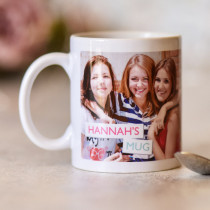 Personalised Name Photo Mug