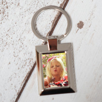 Photo Upload - Square Keyring