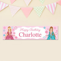 Personalised Princess Banner