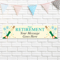 Retirement - Personalised Banner