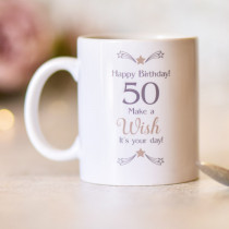 Personalised Sentimental Big Age Mug