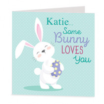 Some Bunny To Love - Luxury Greeting Card