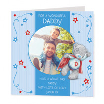 Super Dad Ted - Luxury Greeting Card