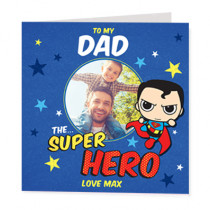 Super Hero Dad - Luxury Greeting Card