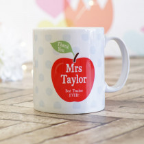 Teacher Apple - Ceramic Mug