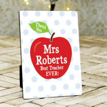 Teacher Apple - Photo Frame