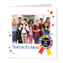 Teacher Class Of - Luxury Greeting Card