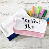 Personalised Pencil Case for any text