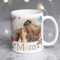 Personalised Fabrique Mum Photo Mug