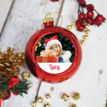 Just Photo Girl - Christmas Bauble