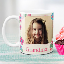 Personalised Fabrique Grandma Photo Mug