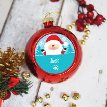 Santa - Christmas Bauble