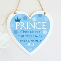 Once Upon A Prince - Hanging Heart