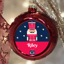 Personalised Soldier - Christmas Bauble