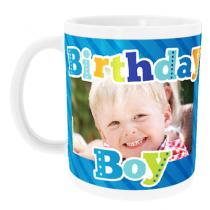 Personalised Birthday Boy Kids with Photo Upload - Mug