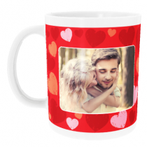 Personalised Valentine's Day with Photo Upload - Mug