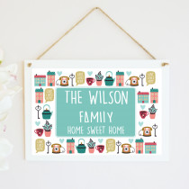 Home Sweet Home - Hanging Plaque