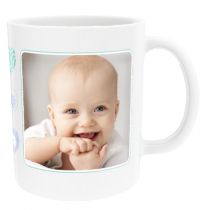 Personalised Heart Communion Design With Photo Upload - Mug