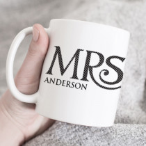Personalised Mrs Mug