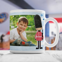 Personalised London Bus Photo Mug