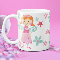 Personalised Cute Fairy Mug