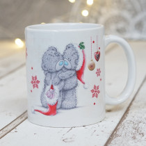 Christmas Love Teds Non Photo - Ceramic Mug