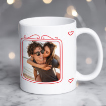 Personalised Gorgeously Sexy Valentine Photo Mug