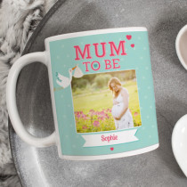 Personalised Mum To Be Photo Mug
