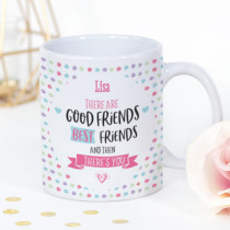 Personalised Best Friends Photo Mug