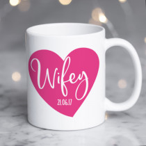 Personalised Wifey Mug